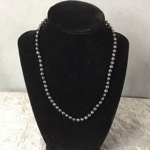 Jewelry - 💎 Freshwater Black Pearl Necklace